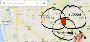 Google Maps Marketing Sales Support