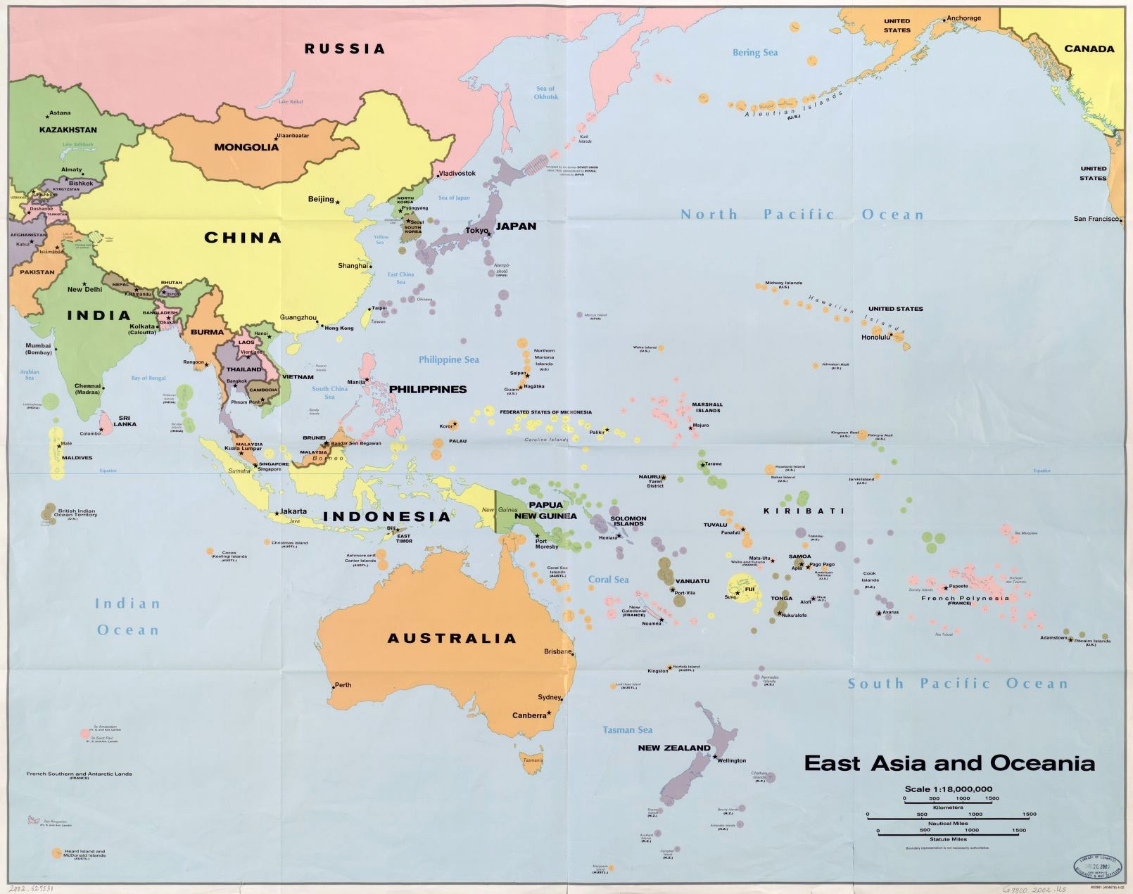 Map Of Southeast Asia And Australia Perfect World Maps With 0